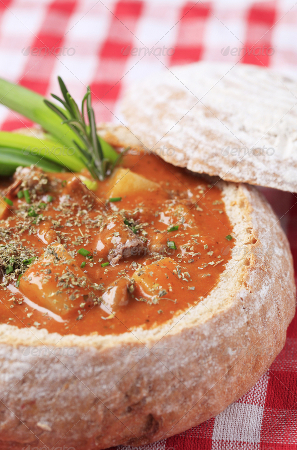 Goulash soup - Stock Photo - Images