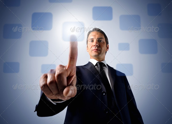 Business and technology - Stock Photo - Images