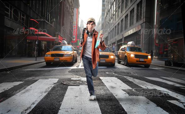 Urban lifestyle - Stock Photo - Images