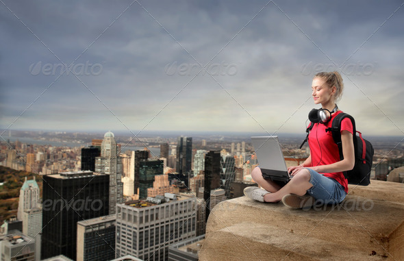 Wireless point - Stock Photo - Images