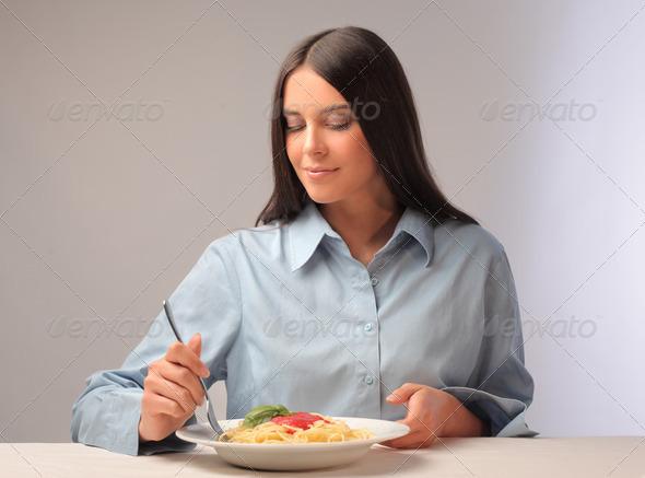 Spaghetti - Stock Photo - Images