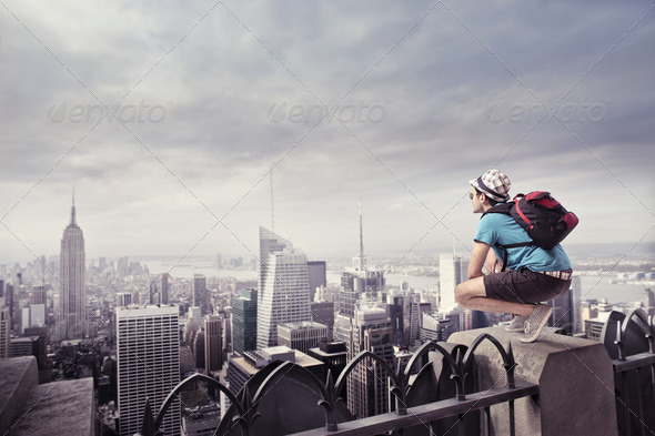 Tourist - Stock Photo - Images