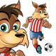 Football Fox Mascot - GraphicRiver Item for Sale