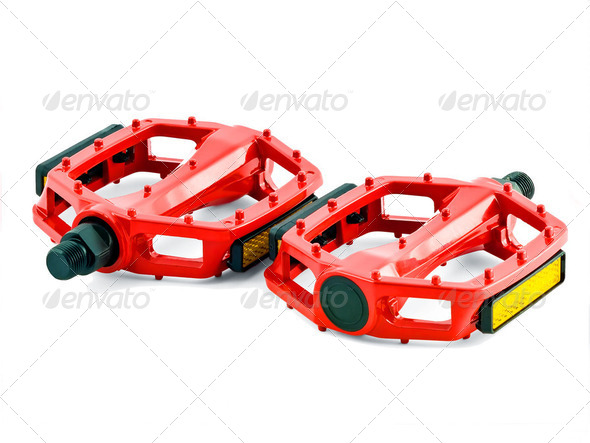 cycling pedals - Stock Photo - Images