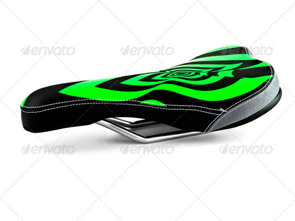bicycle saddle - Stock Photo - Images