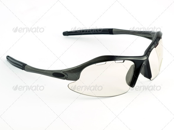 cycling glasses - Stock Photo - Images