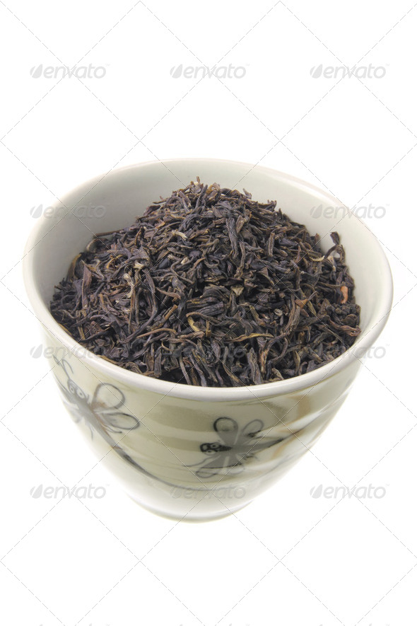 Chinese Tea in Cup - Stock Photo - Images