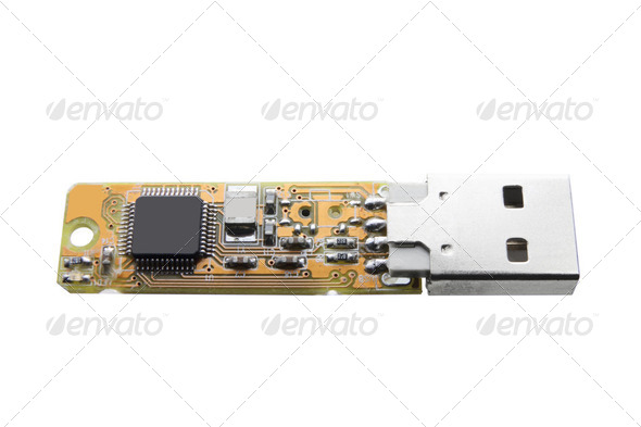 USB Flash Drive - Stock Photo - Images