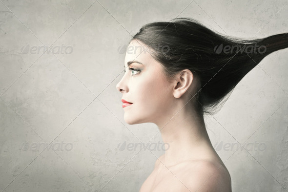 Long hair - Stock Photo - Images