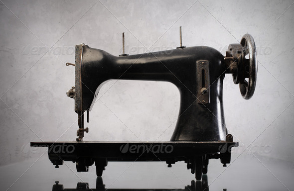 Sewing machine - Stock Photo - Images