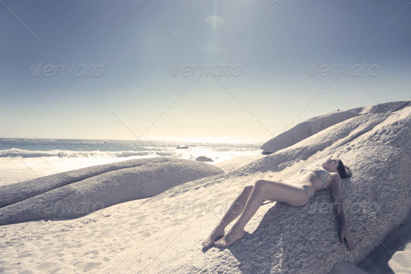 Tanning - Stock Photo - Images