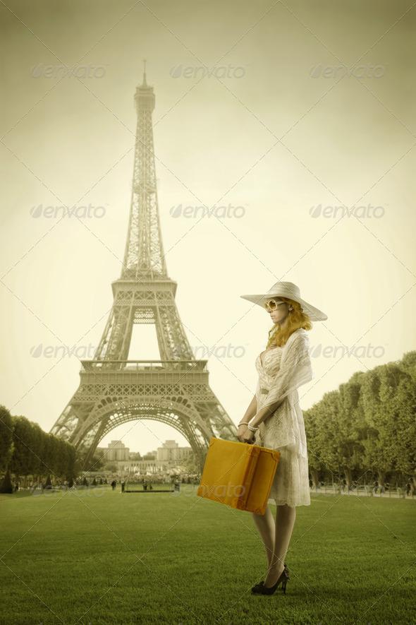 Trip to Paris - Stock Photo - Images