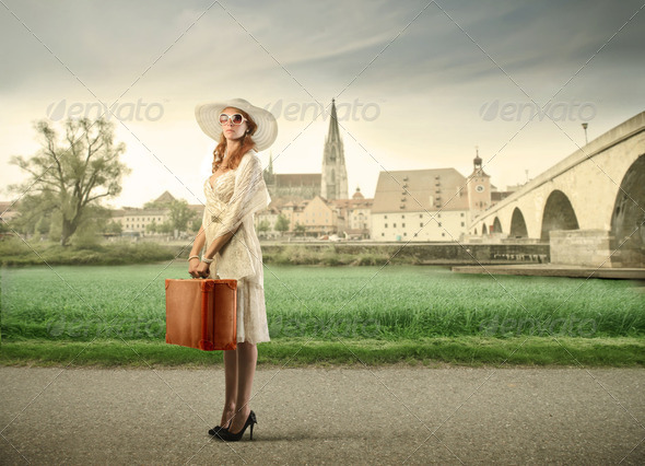 Educational trip - Stock Photo - Images