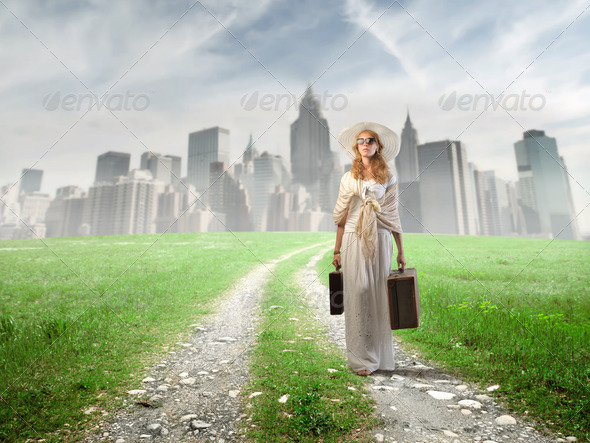 Going on holiday - Stock Photo - Images