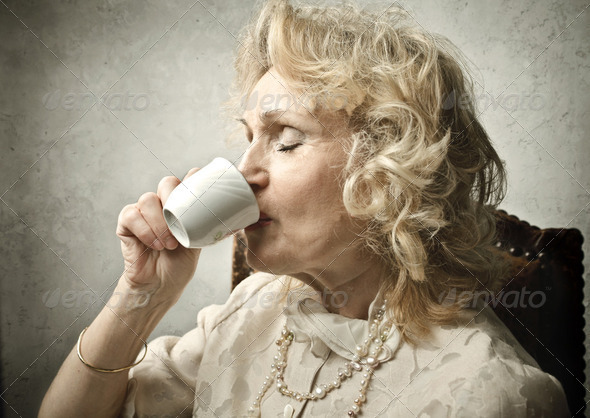 Afternoon coffee - Stock Photo - Images