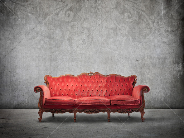 Old furniture - Stock Photo - Images
