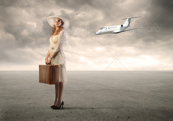 Travel by air - Stock Photo - Images