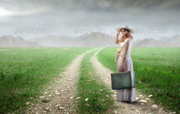 Travel in the country - Stock Photo - Images