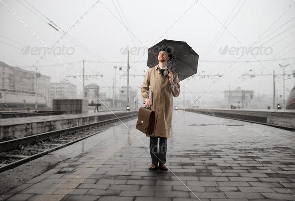 Rainy travel - Stock Photo - Images