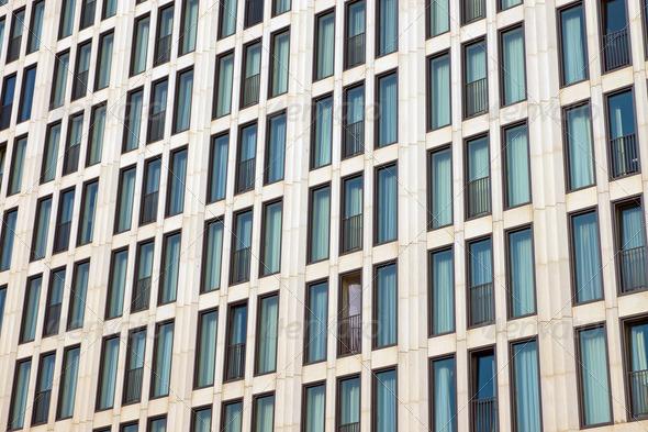 Facade of a skyscraper  - Stock Photo - Images