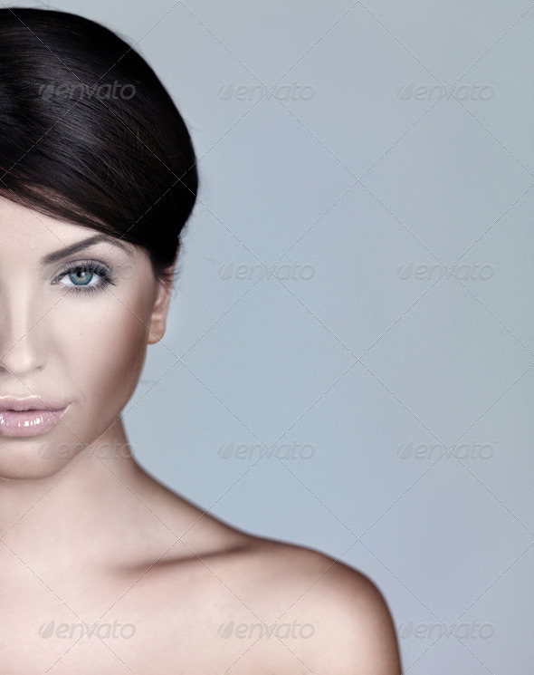 Portrait of Natural Beauty - Stock Photo - Images