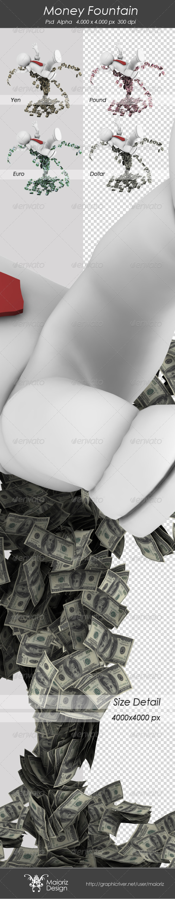 Money Fountain - Miscellaneous Backgrounds