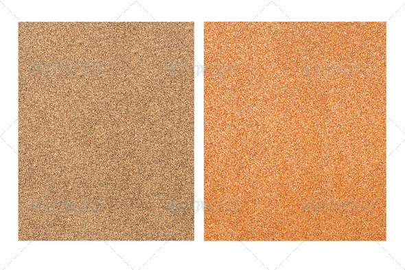 Sandpaper sheets - Stock Photo - Images