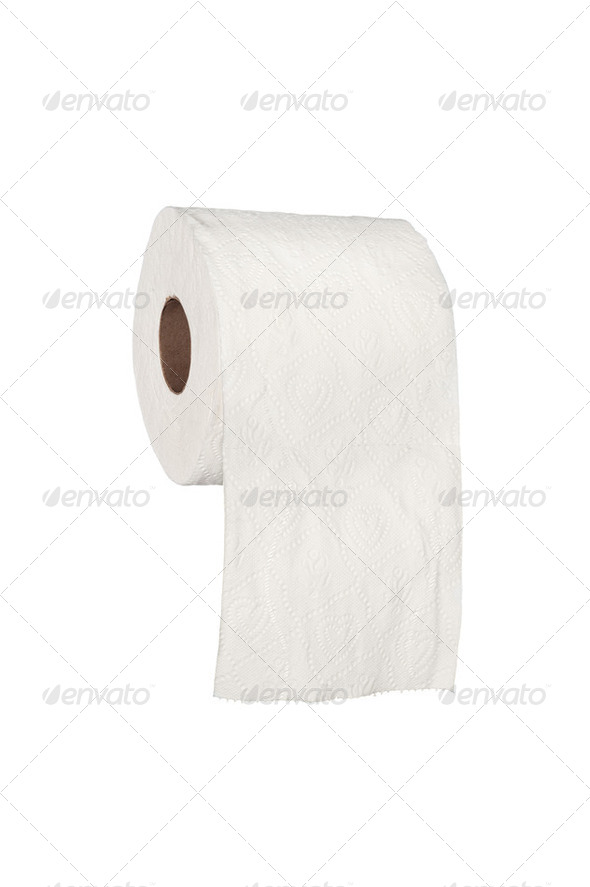 Toilet paper - Stock Photo - Images