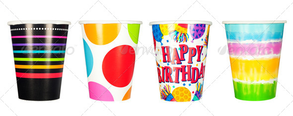 Party cups - Stock Photo - Images