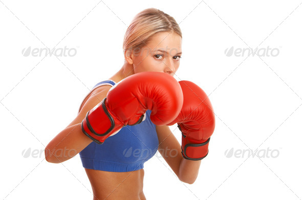Fitness girl - Stock Photo - Images