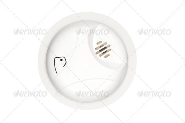 Smoke Alarm - Stock Photo - Images
