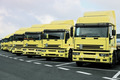 yellow trucks - PhotoDune Item for Sale