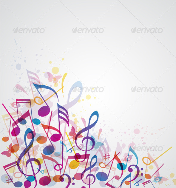 Music Abstract Background - Abstract Conceptual