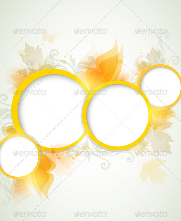 Abstract Yellow  Background - Backgrounds Decorative
