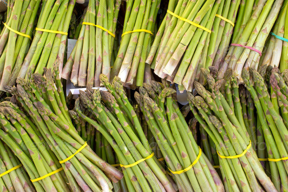Green asparagus - Stock Photo - Images