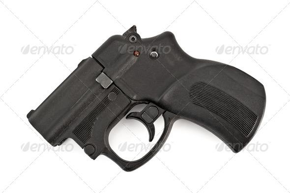 Traumatic gun - Stock Photo - Images