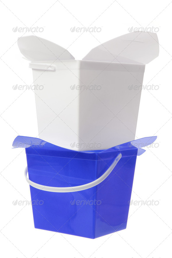 Plastic Boxes - Stock Photo - Images
