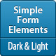 Simple Form Elements - GraphicRiver Item for Sale