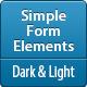 Simple Form Elements - GraphicRiver Item for Sale