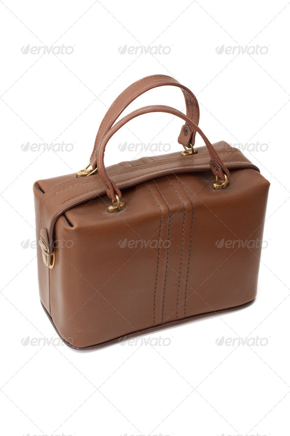 Retro handbag - Stock Photo - Images