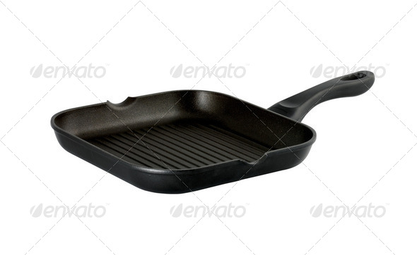 pots and pans - Stock Photo - Images