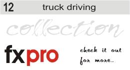 12. Trucks Driving