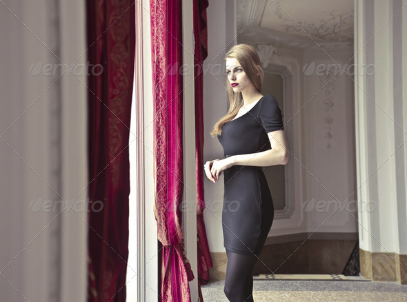 Rich woman - Stock Photo - Images