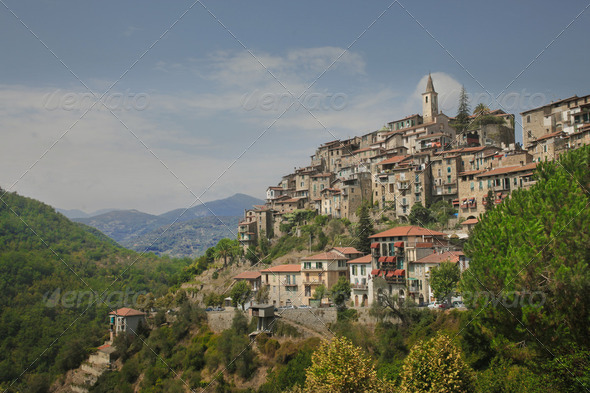 Apricale - Stock Photo - Images