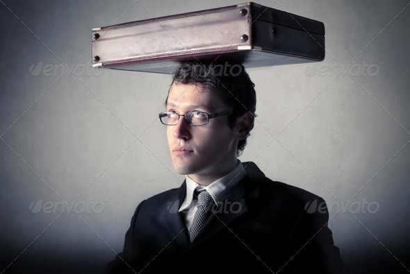 Weight of business - Stock Photo - Images