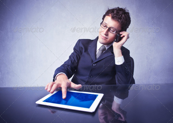 Business in action - Stock Photo - Images