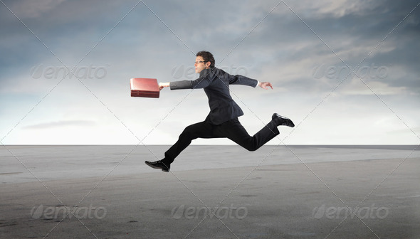 Running late - Stock Photo - Images