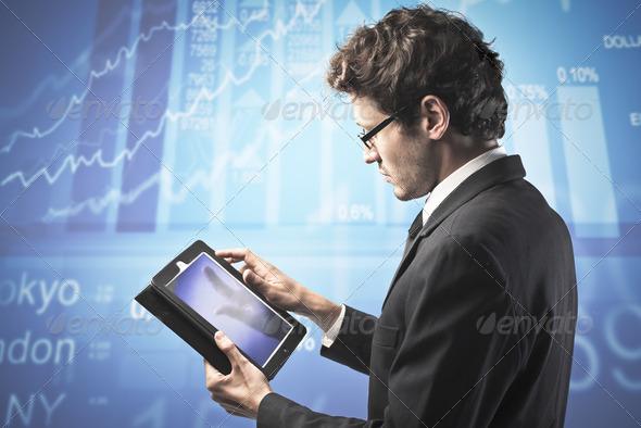 E-finance - Stock Photo - Images