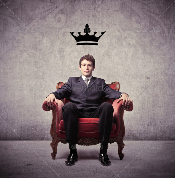 King of business - Stock Photo - Images
