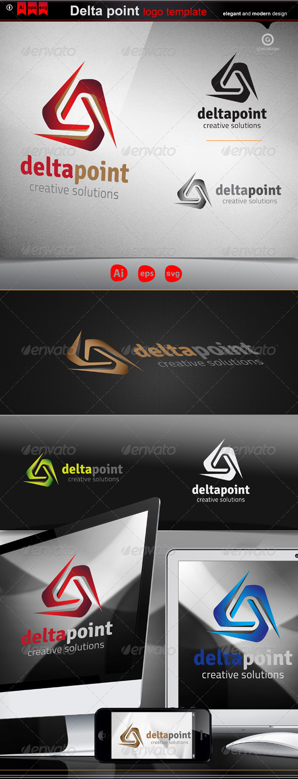 Delta point - Logo Templates